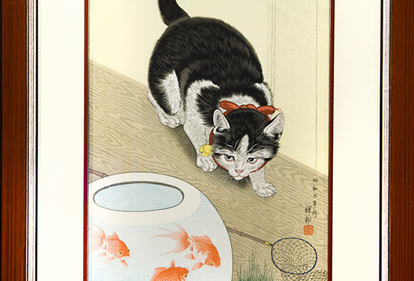 """CAT AND GOLDFISH"""