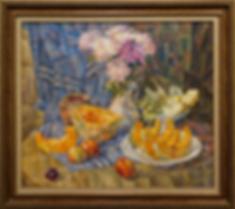 осенний натюрморт | Антон Колоколов | пейзаж | работы художника | кпить картину в Москве | Artmagic | Артмгия | artvin