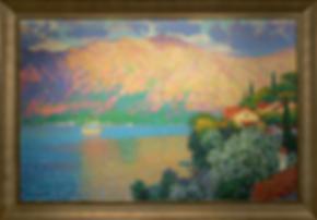 Розовый вечер | Pink evening | Дмитрий Сысоев | Dmitry Sysoev | Landscape | пейзаж | art.vin | Artmagic | Артмагия