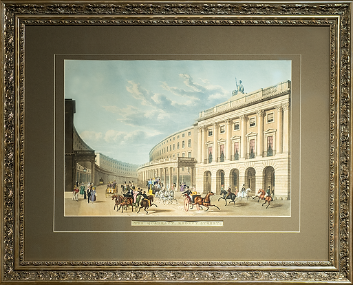 The Quadrant. Regent Street | Thomas Shepherd | Городской пейзаж | art.vin | Artmagic | Артмагия