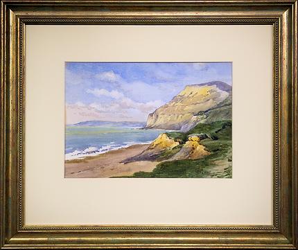 Побережье | Elsie W. Neve | Элси Неве | seascape | marine landscape | Морской пейзаж | art.vin | Artmagic | Артмагия