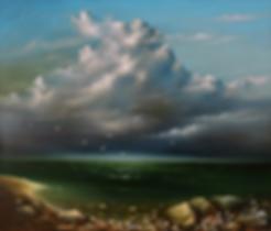 крик чаек | Сергей Лим | художник-маринист | купить морской пейзаж | купить картину маслом | купить картину с морем | Артмагия | Artmagic | artvin