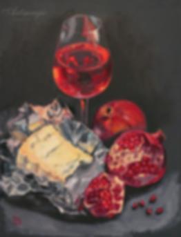 Испанское rose | натюрморт | Ирина Сергеева | Irina Sergeeva | Still life | Натюрморт | art.vin | Artmagic | Артмагия