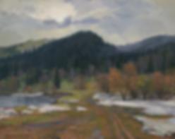 последний снег | весна | Алексей Петриков | Alex Petrikov | Landscape | пейзаж | природа | art.vin | Artmagic | Артмагия