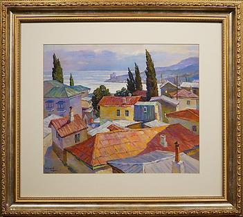 Городской пейзаж | Игорь Сафонов-младший | Городской пейзаж | art.vin | Artmagic | Артмагия