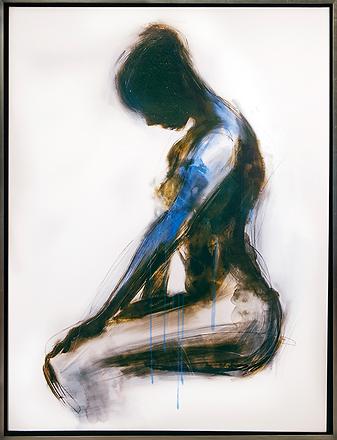 Обнажённая | Nude blue | Cuite | Милашки | art.vin | Artmagic | Артмагия