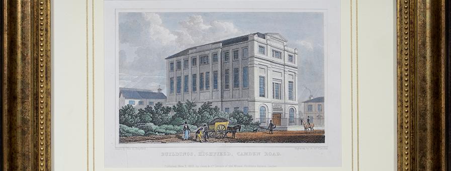 """Bildings, Highfild, Camden Road"""