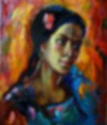 в огне страсти  | портрет страсти | Малахова Светлана | Svetlana Malahova | portrait | портрет | art.vin | Artmagic | Артмагия