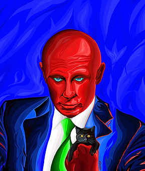 Путин и НАТО | Putin and NATO | Василий Сидорин | Vasily Sidorin | Humor | юмор | art.vin | Artmagic | Артмагия
