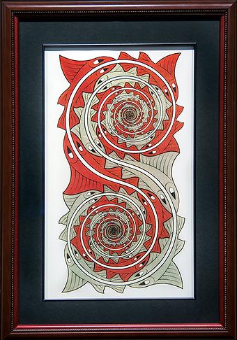 Завихрения | Мауриц Эшер | M.C. Esher | art.vin | Artmagic | Артмагия
