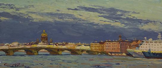 Северная Венеция | Санкт-Петербург | Дмитрий Сысоев | Dmitry Sysoev | Landscape | пейзаж | art.vin | Artmagic | Артмагия