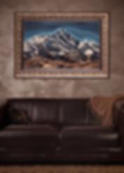 Эверест в интерьере | Everest | Василий Сидорин | VASILY SIDORIN | sidorin.info | Artmagic