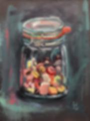 Сладкое сокровище | Sweet treasure | Ирина Сергеева | Irina Sergeeva | Still life | Натюрморт | art.vin | Artmagic | Артмагия