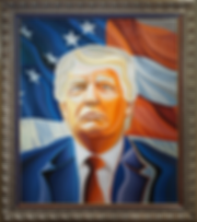 Василий Сидорин | Трамп | art.vin