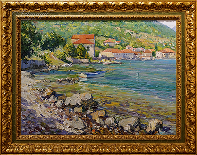 Побережье Адриатики | the Adriatic coast | Дмитрий Сысоев | Dmitry Sysoev | Landscape | пейзаж | art.vin | Artmagic | Артмагия