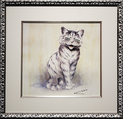 Улыбашка | Louis Wain | Cat | Котики | art.vin | Artmagic | Артмагия