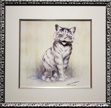 Улыбашка | Louis Wain | Cat | Котики | art.vin | Artmagic | Артмагия