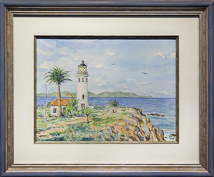 Маяк | Lighthouse | Rick Parszik | Рик Паржик | seascape | marine landscape | Морской пейзаж | art.vin | Artmagic | Артмагия