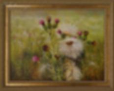 пушистое лето  | Ирина Поцелуева | купить картину маслом | пейзаж | купить пейзаж | купить картину в москве | Артмагия | Artmagic | artvin