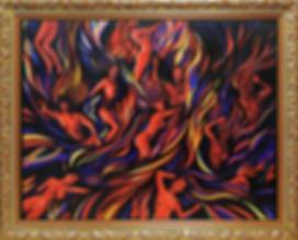 Второй круг Ада | Василий Сидорин | Абстракция | art.vin | Artmagic | Артмагия