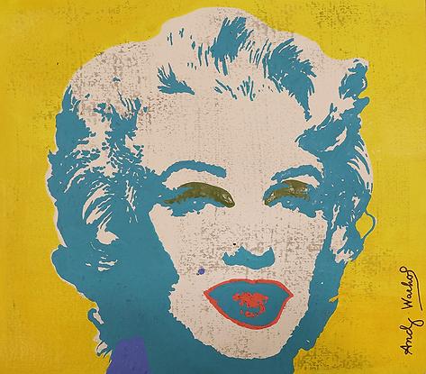 Мэрлин бирюзовая  | Монро | Marilyn Monroe  | Энди Уорхол | Andy Warhol | art.vin | Artmagic | Артмагия