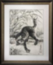 Кошка поймала мышь | Каванабэ Кёсай | Cat | Котики | art.vin | Artmagic | Артмагия