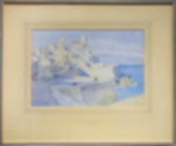 French coast St Ives school | Mary McCrossan | Городской пейзаж | art.vin | Artmagic | Артмагия