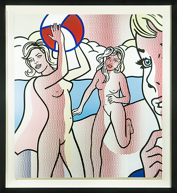 Волейбол | Volleyball | Рой Лихтенштейн | Roy Lichtenstein | Cuite | Милашки | art.vin | Artmagic | Артмагия