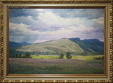 Лето | Summer | Алексей Петриков | Alex Petrikov | Landscape | пейзаж | природа | art.vin | Artmagic | Артмагия