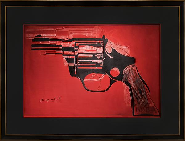 Gun | Andy Warhol |  art.vin