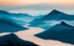 ЗДЕСЬ БЫЛ ВАСЯ   | Василий Сидорин | Волнизм | Купить пейзаж | купить картину в москве