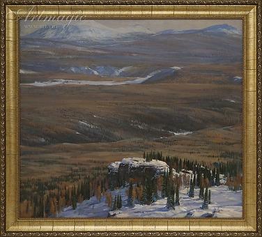 Уральские | дали | Алексей Петриков | Alex Petrikov | Landscape | пейзаж | природа | art.vin | Artmagic | Артмагия
