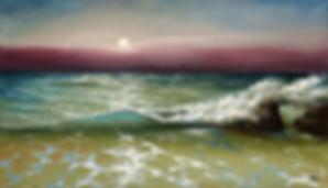 Закат | Сергей Лим | художник-маринист | купить морской пейзаж | купить картину маслом | купить картину с морем | Артмагия | Artmagic | artvin