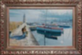 уходящее лето | leaving summer | Крестовоздвиженский | морской пейзаж | купить картину море | волны | Артмагия | Artmagic | seascape | vave | art.vin
