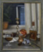 Вечер. Кофе с коньяком | кофе | Ирина Сергеева | Irina Sergeeva | Still life | Натюрморт | art.vin | Artmagic | Артмагия