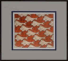 рыбы утки    Мауриц Эшер   M.C. Esher   art.vin   Artmagic   Артмагия
