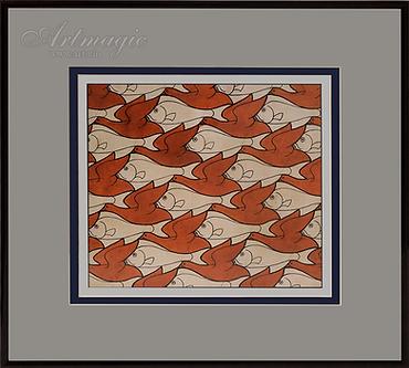 рыбы утки  | Мауриц Эшер | M.C. Esher | art.vin | Artmagic | Артмагия
