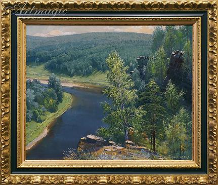 Юрюзань | пейзаж | Алексей Петриков | Alex Petrikov | Landscape | пейзаж | природа | art.vin | Artmagic | Артмагия