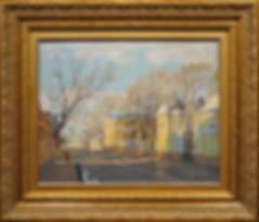 Московская улочка | Дмитрий Петров | Городской пейзаж | art.vin | Artmagic | Артмагия