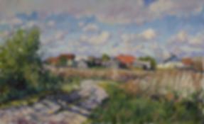 деревенские каникулы | деревенский пейзаж | сельский пейзаж | Дмитрий Сысоев | Dmitry Sysoev | Landscape | пейзаж | art.vin | Artmagic | Артмагия