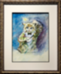 I am now at the top of the tale! | Louis Wain | Cat | Котики | art.vin | Artmagic | Артмагия