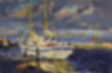 Гуляет ветер по Неве | Питер | Дмитрий Сысоев | Dmitry Sysoev | Landscape | пейзаж | art.vin | Artmagic | Артмагия