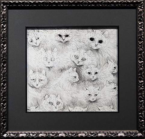 Эмоции | Louis Wain | Cat | Котики | art.vin | Artmagic | Артмагия