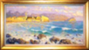 Будва | набережная  | Дмитрий Сысоев | Dmitry Sysoev | Landscape | пейзаж | art.vin | Artmagic | Артмагия