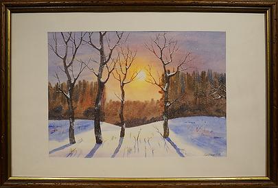 Зимний пейзаж | Ковалёв | Kovalev | Landscape | пейзаж | art.vin | Artmagic | Артмагия