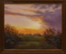 Летний вечер | Ирина Поцелуева | купить картину маслом | пейзаж | купить пейзаж | купить картину в москве | Артмагия | Artmagic | artvin