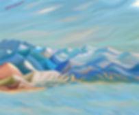 МОНЕ ОТДЫХАЕТ | там где нас нет | горы | волнизм | Василий Сидорин | vasily sidorin | vawes | volnism | Artmagic