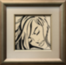 Молодая женщина | Young Woman | Рой Лихтенштейн | Roy Lichtenstein | Cuite | Милашки | art.vin | Artmagic | Артмагия