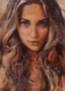 Мария | скетч | заказать портрет | Елена Митина | купить картину в Москве | купить картину | галерея Москвы | Артмагия | Artmagic | artvin