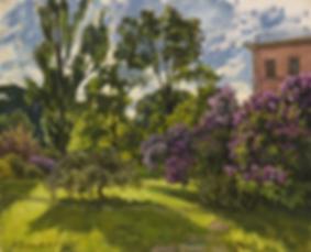 Сиреневое настроение  | купить пейзаж | Федор Парфенов | купить картину в Москве | купить пейзаж | галерея Москвы | Артмагия | Artmagic | artvin